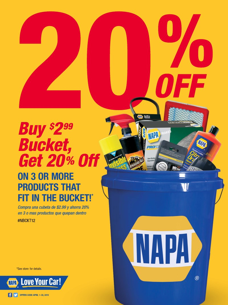 SOUTHERN INDIANA PARTS INC - NAPA - BUCKET